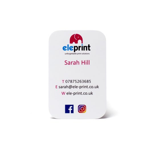 Eleprint business card printed