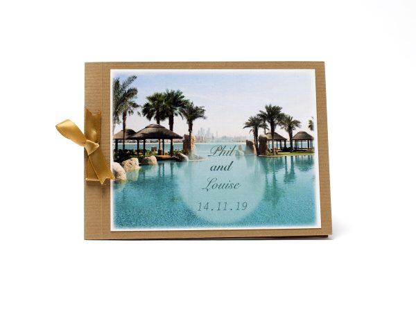 Wedding invite printed