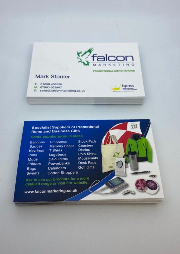 Falcon Marketing Business Cards
